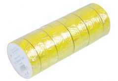 CONCORDIA TECHNOLOGIES AIT1933YELL  Insulation Tape Yell 19Mm X 33M 10/Pk